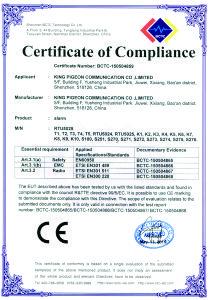RTU 5024 CE certifikat